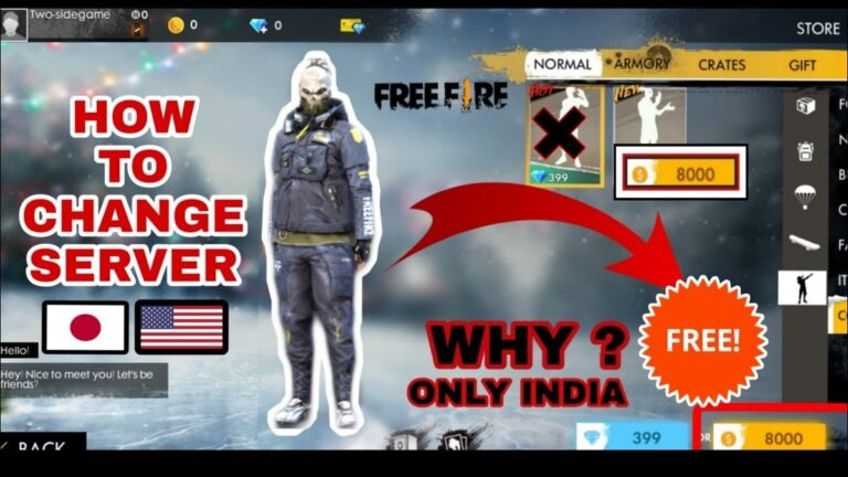 Free Fire Servers: How To Shift Your Account To Overseas Servers?