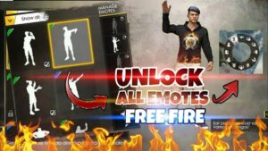 How to get free emotes in free fire 2020? free emotes in free fire.