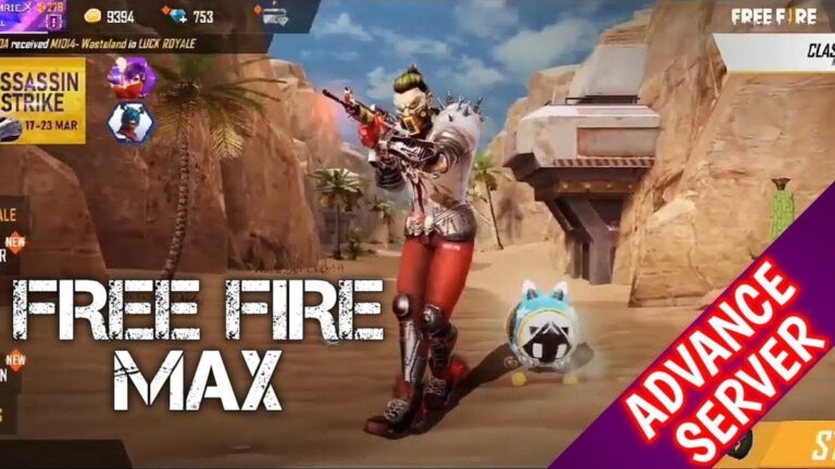 How To Register For Free Fire Max Advance Server?