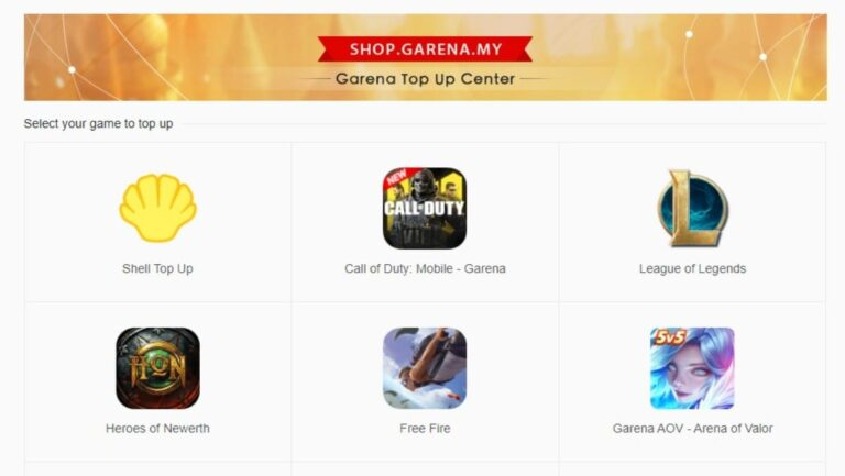 How to Top-up diamonds in Free Fire using Shop.Garena.My » FirstSportz