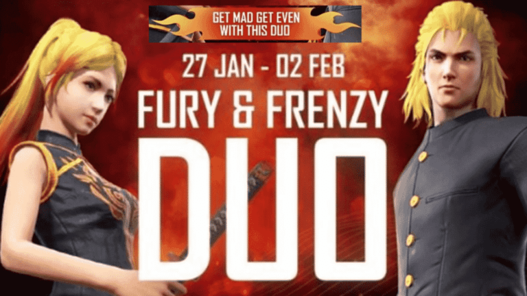 How to get Fury and Frenzy Duo Bundle in Free Fire