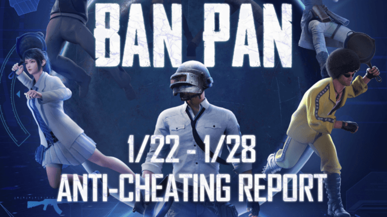 PUBG Mobile banned 1,857,847 accounts this week under new anti-cheat system