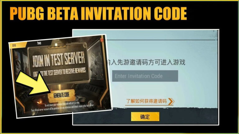 What Is The PUBG Beta Invitation Code And How To Get It?