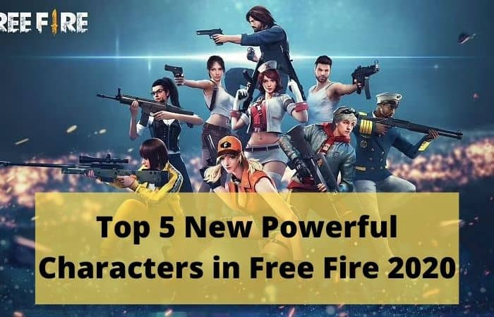 5 Best Characters in Free Fire: All you need to Know - Digital CSC
