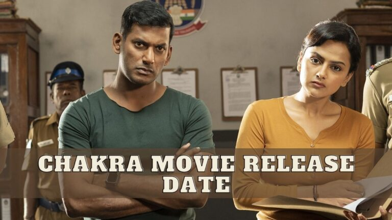 Chakra Movie Release Date and Time, Cast, Trailer, Where to Watch Chakra Tamil Movie