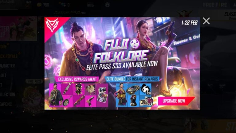 How to get Free Fire Season 33 Elite pass for free in February 2021: Garena Free Fire » FirstSportz