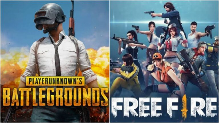 Free Fire vs PUBG : Gameplay, Graphics and more on Free Fire Vs PUBG