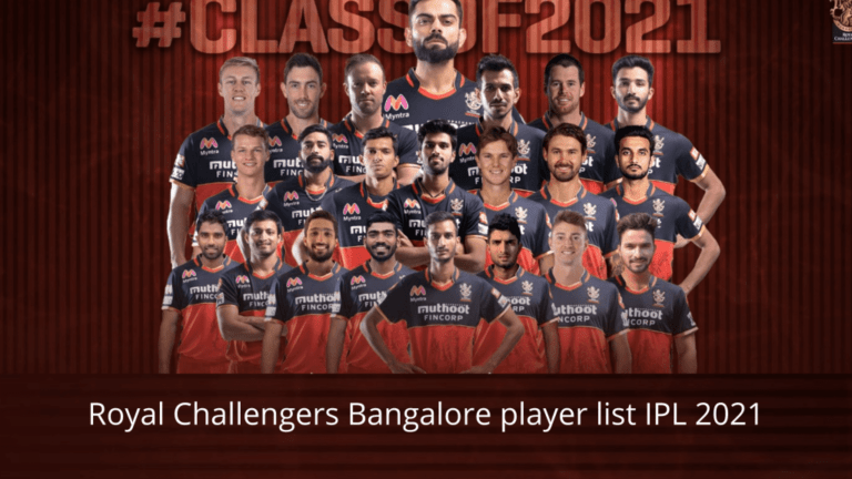 Royal Challengers Bangalore (RCB) full squad and player list IPL 2021: See the list of Royal Challengers Bangalore (RCB) players for IPL 2021