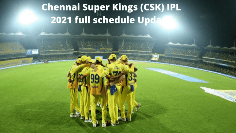 Chennai Super Kings (CSK) IPL 2021 full schedule Update, squad, match timings, venues, and more