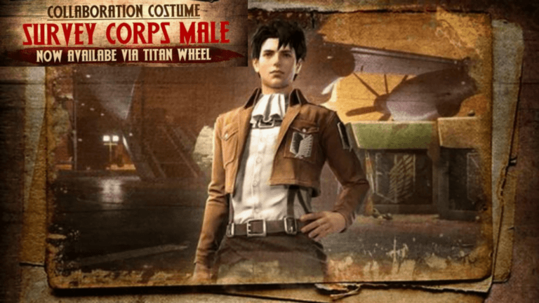 Male Survey Corps bundle in Free Fire Full Detail How to Get It
