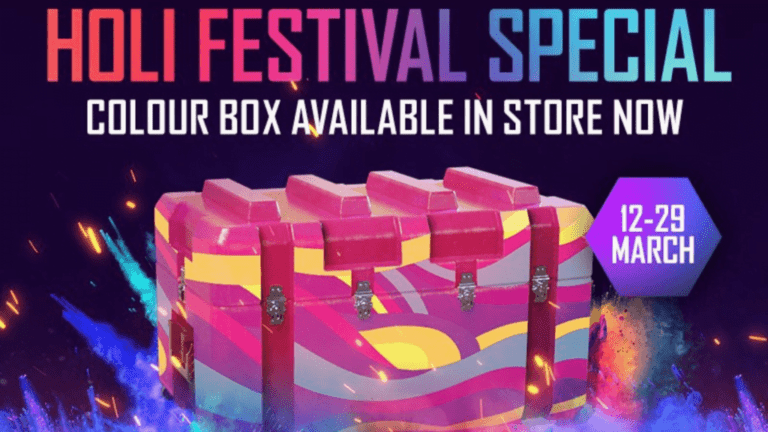 Free Fire New Event : Color Box Crate event in Free Fire for Free Rewards