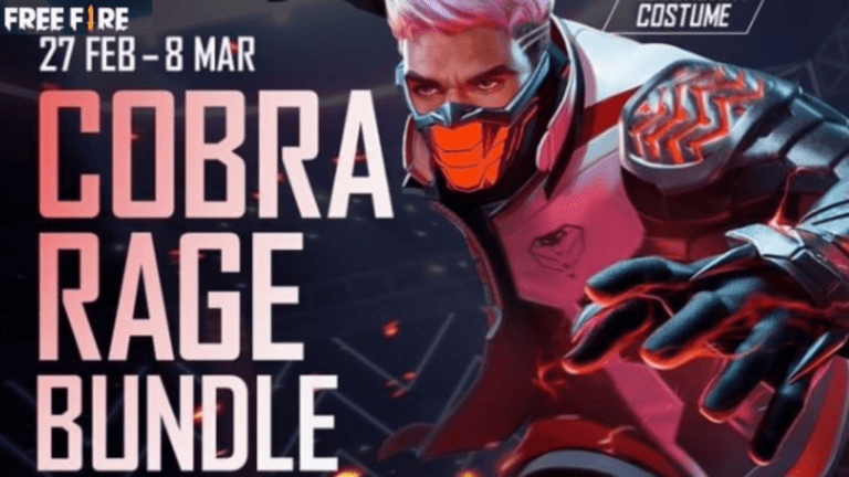 How to get Legendary Cobra Rage Costume in Free Fire